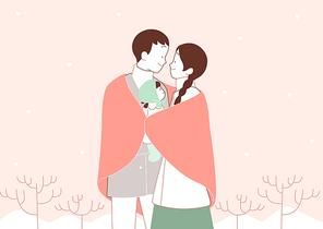 겨울가족 002