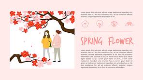 Spring Flower 피피티 배경 (봄, 꽃)