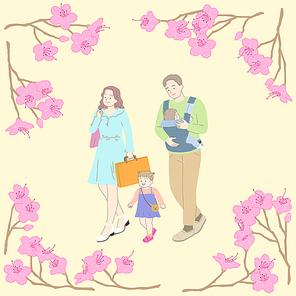 봄꽃백그라운드 010