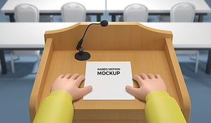 Hands Mockup 008