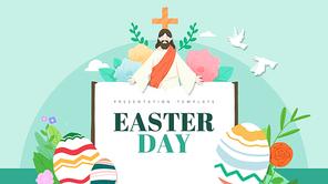 Easter 부활절 피피티 템플릿 (종교, 문화)