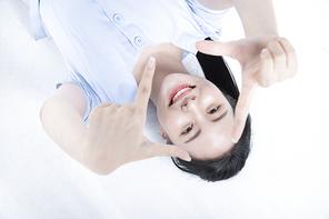 발랄한 10대 소녀 069