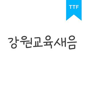강원교육새음TTF