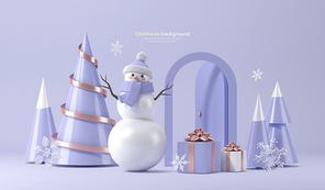 크리스마스 배경 003