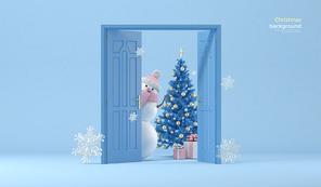 크리스마스 배경 010