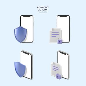 금융 아이콘 010
