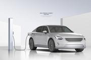 친환경 에너지 전기차 충전