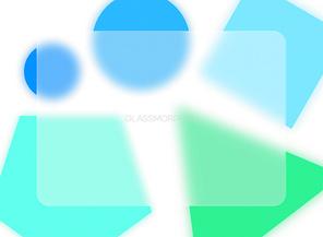 유리효과 디자인트랜드 글라스모피즘 시리즈 벡터 이미지