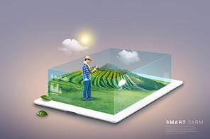 스마트 기술을 활용한 농업