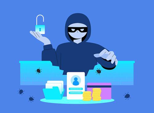 보안벽을 뚫고 개인정보, 파일, 신용카드 정보등을 훔치는 해커