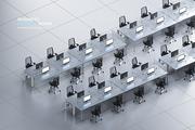 아이소매틱 3D 비즈니스 공간