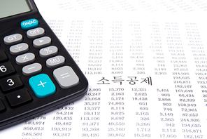 계산기, 돋보기, 세금, 숫자