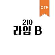210 라임 OTF B