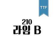210 라임 TTF B