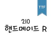 210 핸드메이드 TTF R