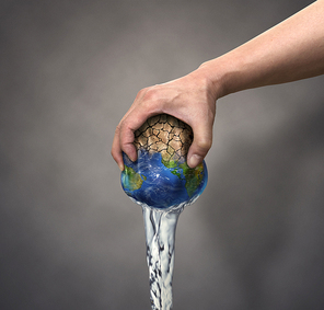 지구 물부족 컨셉