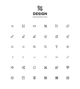 모노톤아이콘_design
