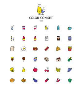 coloricon_food