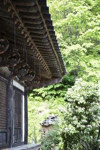 안동 천등산 봉정사의 웅진암 건물