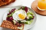 Example of healthy brunch or breakfast