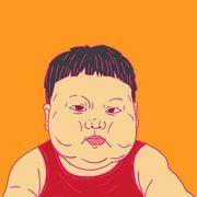 fatty boy sketch