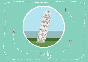 leaning tower in italy