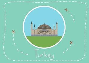 sultanahmet camii in turkey