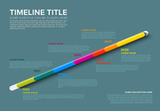 Vector glassy diagonal infographic Company Milestones Timeline Template with dates and other information - dark teal version