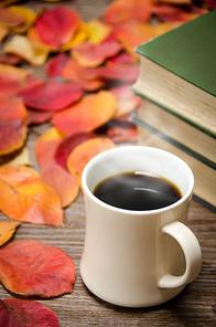 가을과 커피