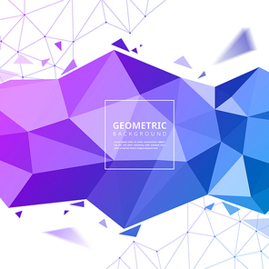 Polygon background template