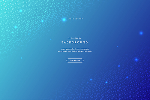 abstract vector illustration background inspired by mysterious medical science and technology