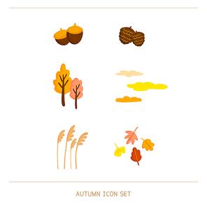 가을 아이콘 세트