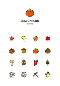 계절심플아이콘06 - 가을